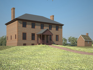 ca. 1764 West Elevation